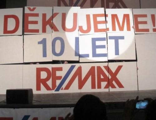 10 let RE/MAX v ČR